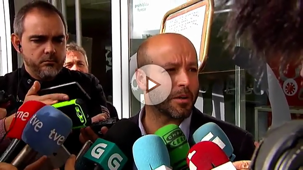 Luis Villares, candidato de En Marea (Podemos) a al Xunta.