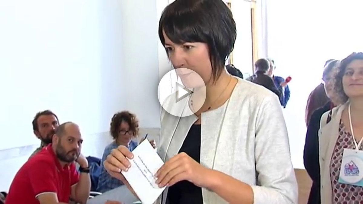 Ana Pontón, candidata del BNG a la Xunta.