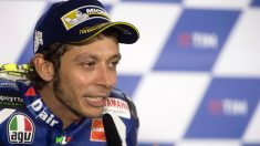 Rossi, en rueda de prensa. (Getty)