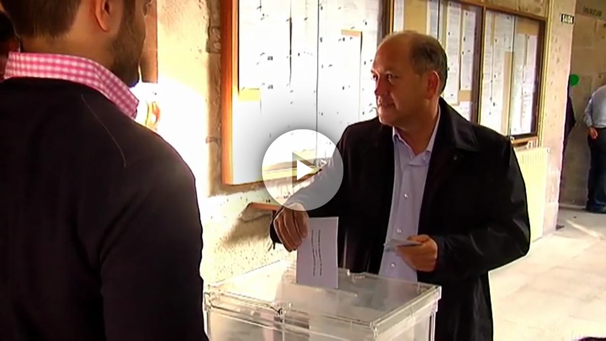 Xoaquín Fernández Leiceaga, candidato del PSdeG en las autonómicas gallegas.