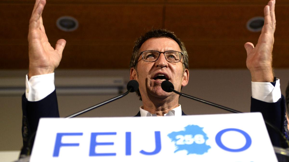 Alberto Núñez Feijóo. (Foto: AFP)