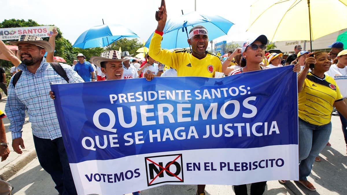 Crece en Colombia el rechazo al acuerdo con las FARC (Foto: Reuters)