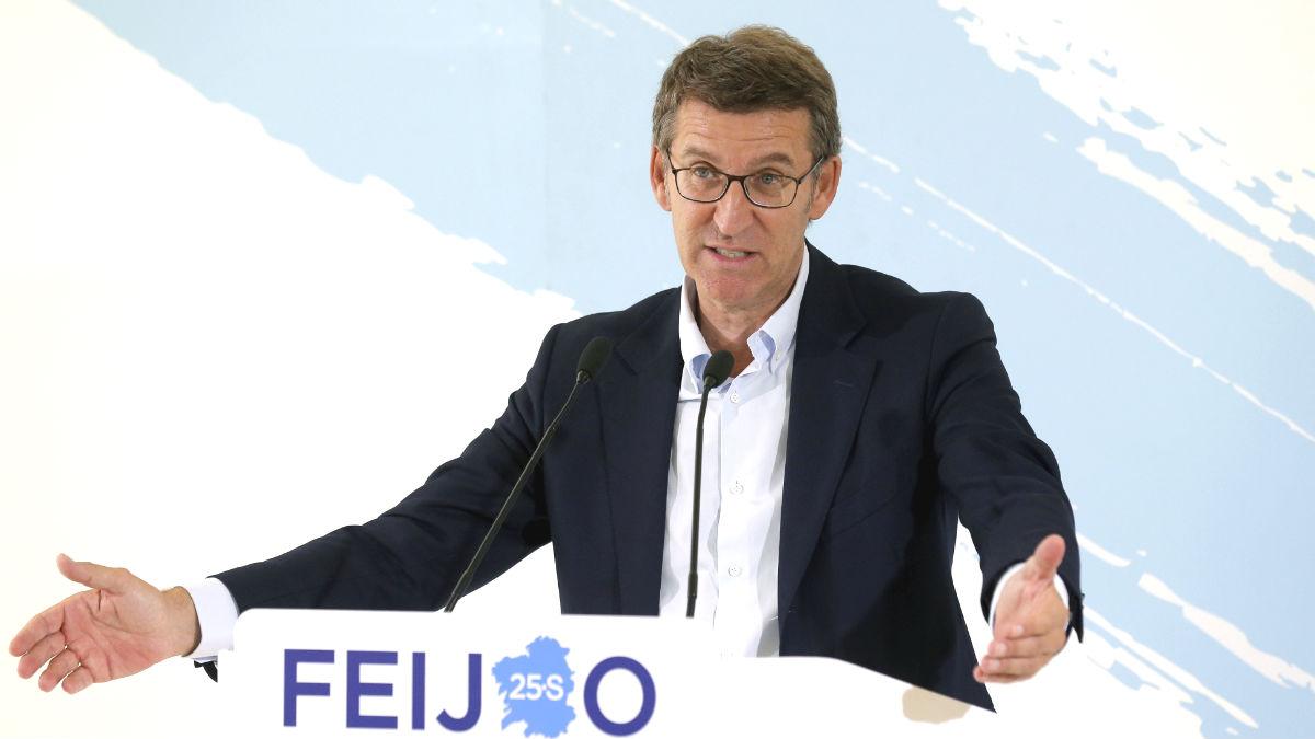El presidente de la Xunta de Galicia, Alberto Núñez Feijóo (Foto: Efe)