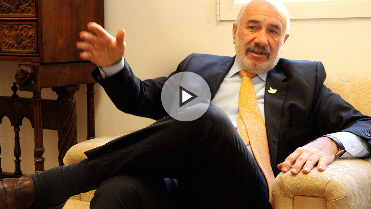 Alberto Furmanski, embajador de Colombia en Madrid.