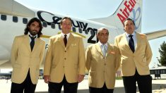 Javier Hidalgo, a la izquierda, nuevo consejero delegado de Globalia (Foto: EFE)
