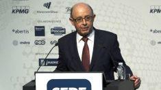 El ministro de Hacienda en funciones, Cristóbal Montoro (Foto: GETTY).