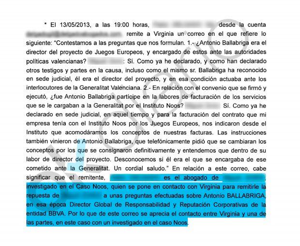 Informe de la UDEF sobre la entrevista publicada en Ausbanc.