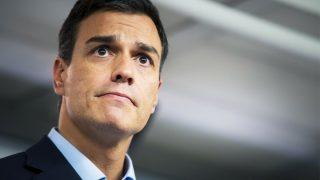 Pedro Sánchez. (Foto: AFP)