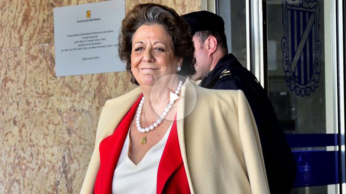 Rita Barberá en una reciente imagen (Foto: Efe).