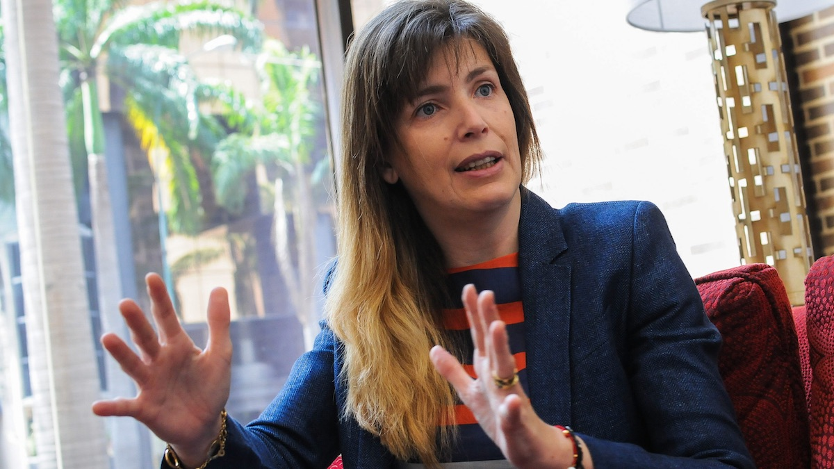 La vicepresidenta del FC Barcelona y directiva de Essentium, Susana Monje. (Foto: EFE)