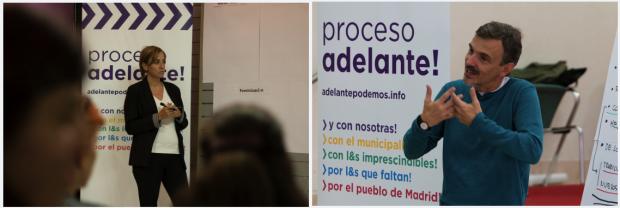 Tania Sánchez y José Manuel López completan las cabezas visibles del proyecto. (Foto: PA)