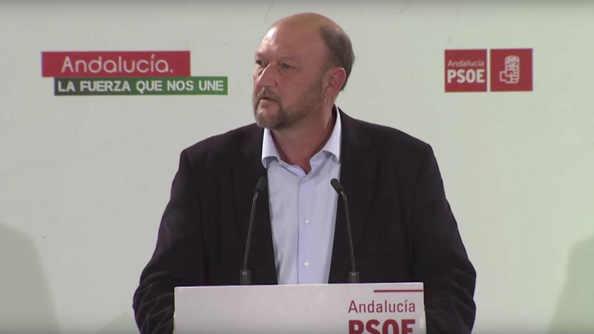 Antonio Pradas, coordinador de la interparlamentaria del PSOE.