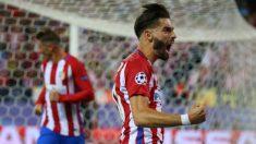Carrasco anotó el gol del Atlético ante el Bayern de Ancelotti. (Reuters)