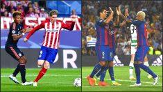 El Atlético se mide al Bayern y el Barcelona al Monchengladbach.