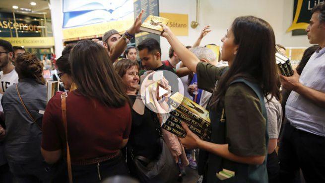 Locura por 'Harry Potter': una noche «mágica» para lograr los primeros ejemplares en España