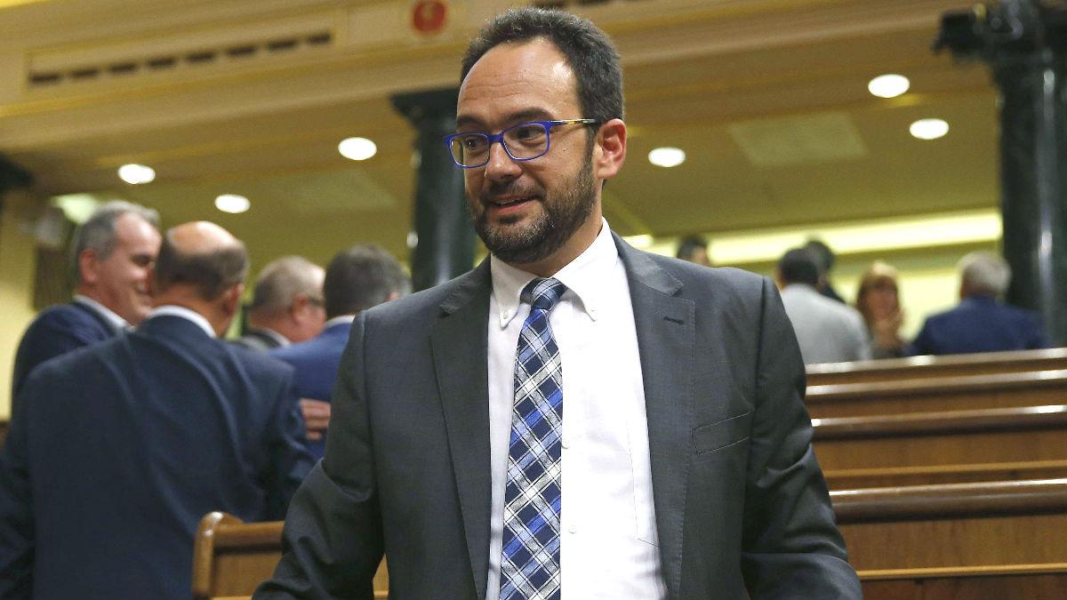 El ex portavoz del PSOE en el Congreso, Antonio Hernando (Foto: Efe)