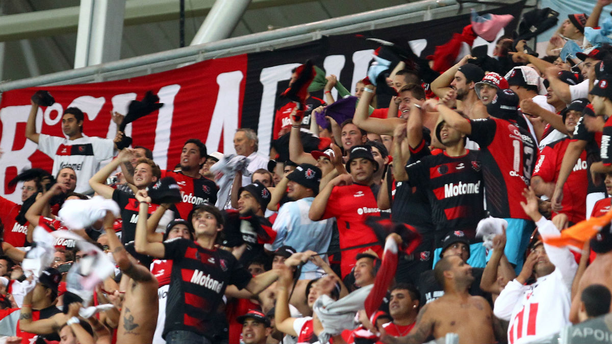 Aficionados de Newell's Old Boys. (Getty)