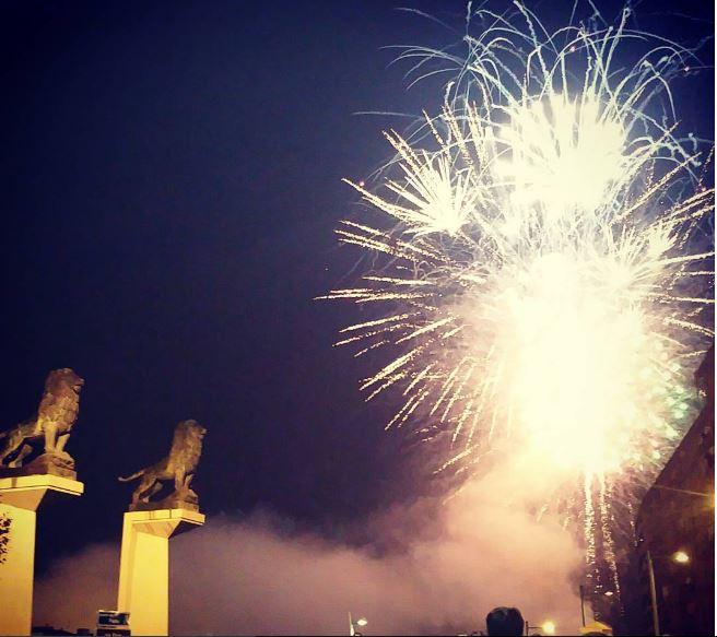 Fuegos artificiales Fiestas del Pilar 2016