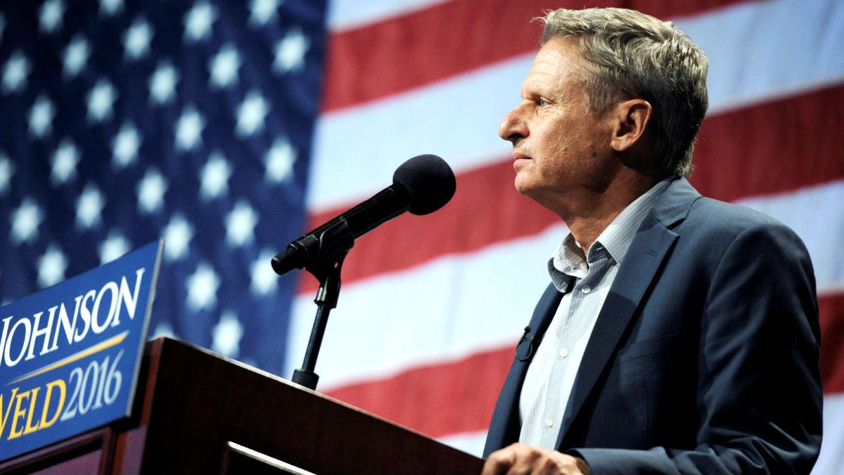 Gary Johnson en una reciente imagen (Foto: Reuters).