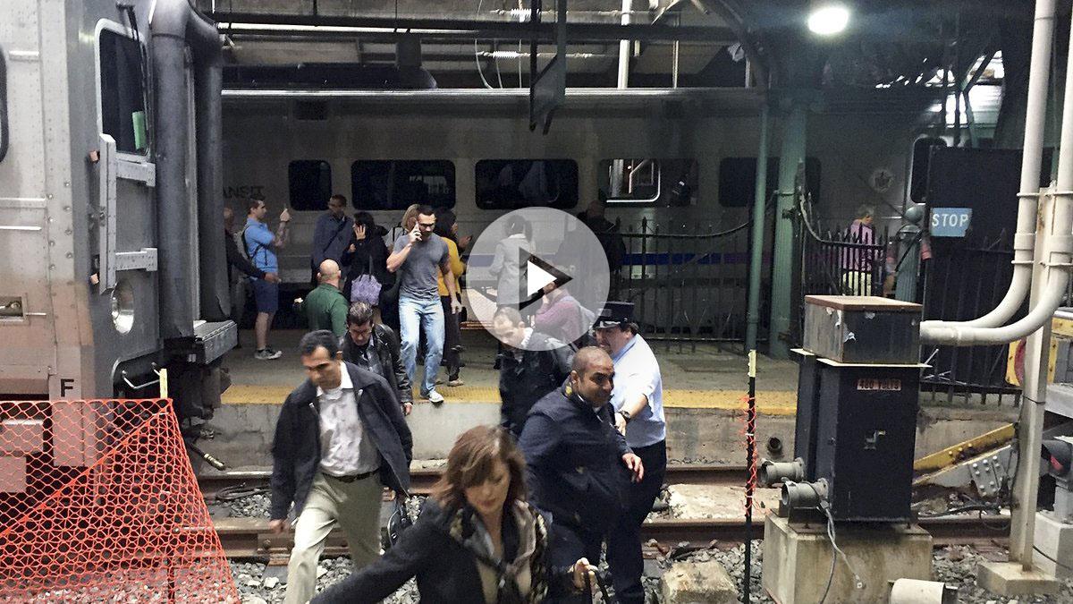 Estación en Hoboken. (Foto: AFP)