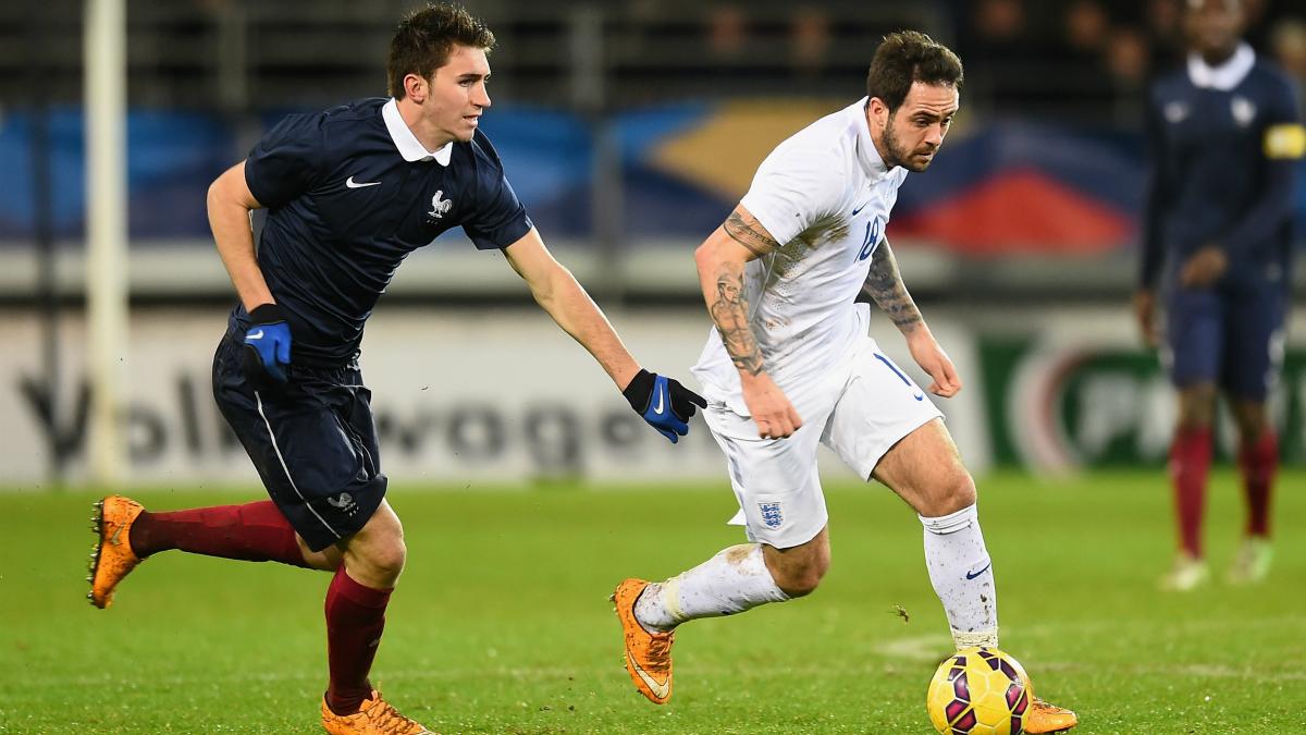 Laporte, en un partido con la sub-21 de Francia. (Getty)