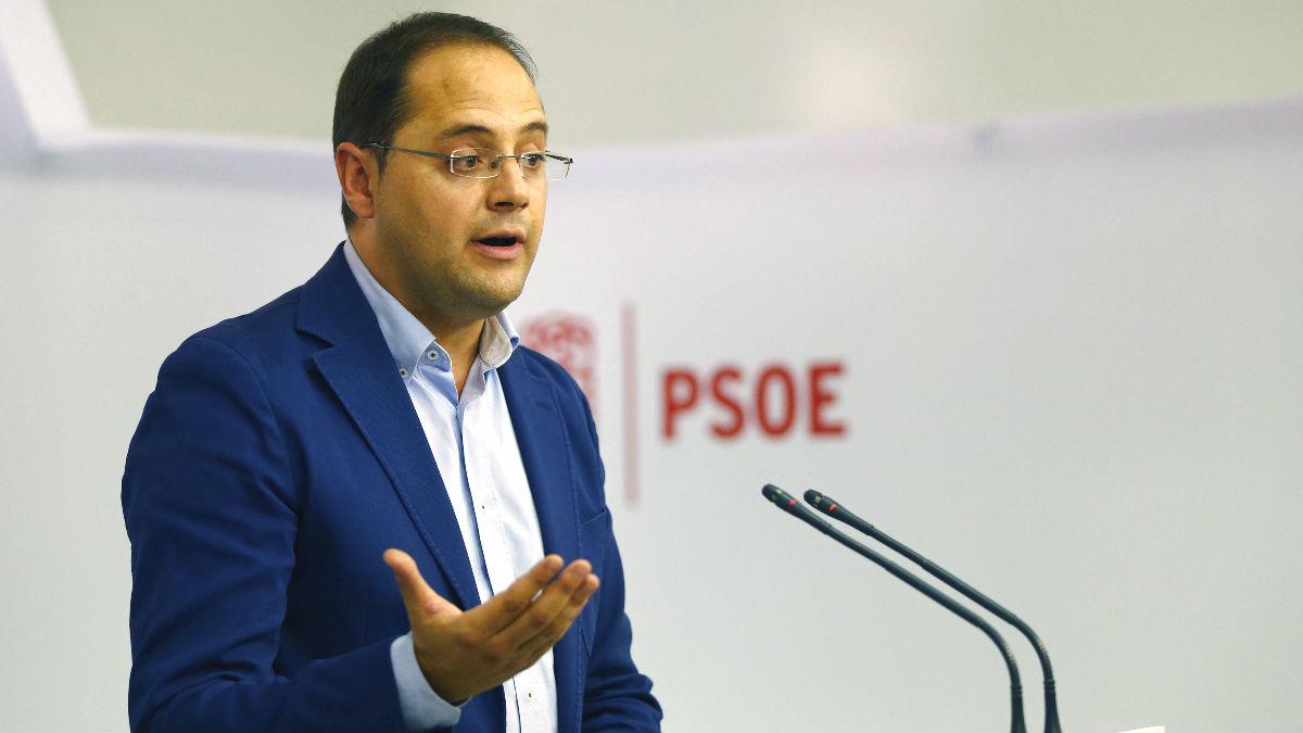 El secretario de Organización del PSOE, César Luena (Foto: Efe)