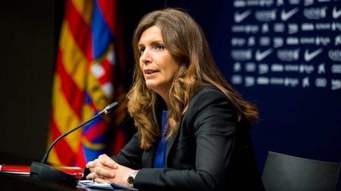 La exvicepresidenta del FC Barcelona y directiva de Essentium, Susana Monje. (Foto: F.C. Barcelona)