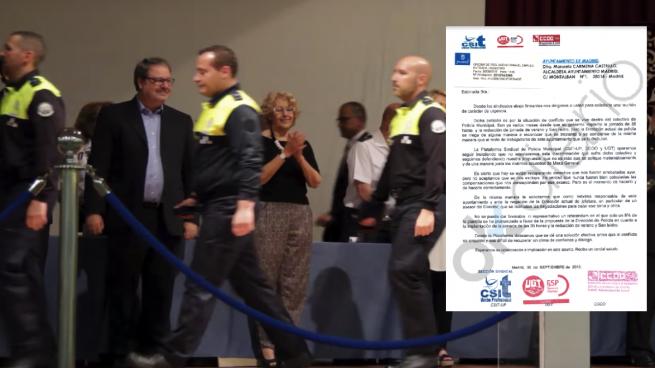 Fracasa la consulta de Carmena a sus policías: sólo el 8% vota a favor de la jornada de 35 horas