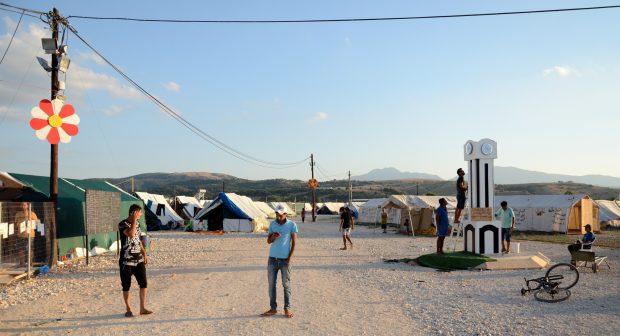 Campamento de Ktasikas, Grecia. ÁLVARO GONZÁLEZ SÁNCHEZ