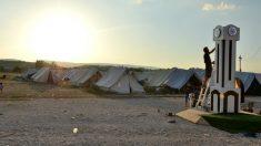 El campo de refugiados de Katsikas, Grecia. (Á. G. SÁNCHEZ)