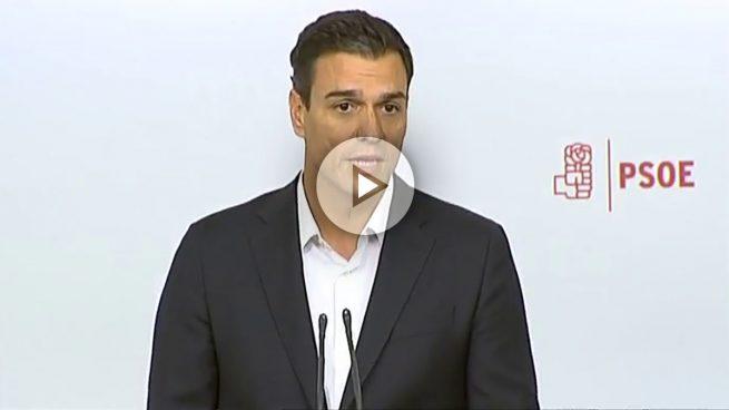 Sánchez dice que dimitirá si el Comité Federal facilita ser presidente a Rajoy