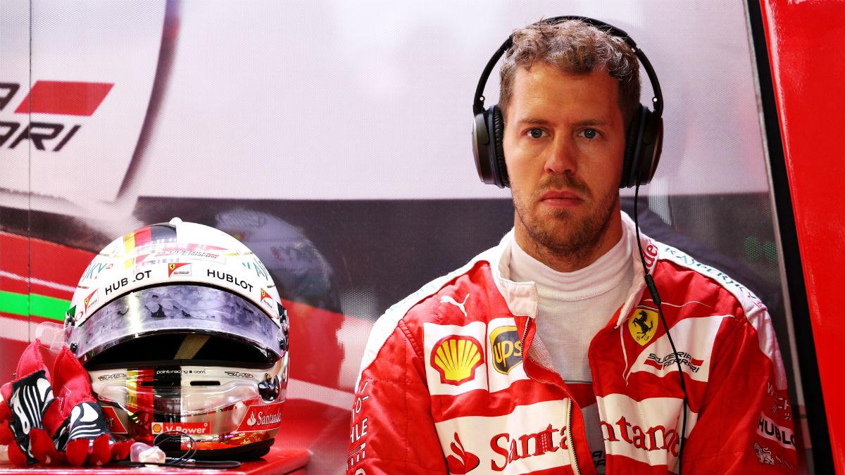 Sebastian Vettel duda de los neumáticos del año que viene tras tener la oportunidad de probarlos. (Getty)