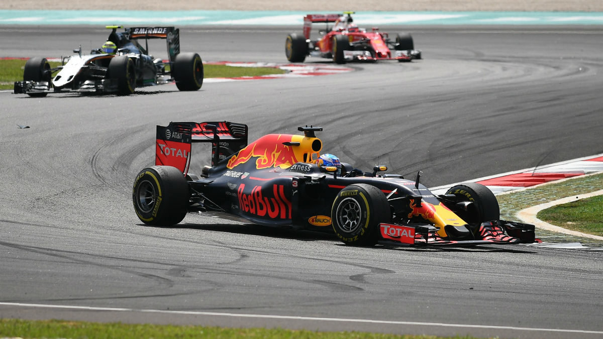 Daniel Ricciardo, vencedor del GP de Malasia. (AFP)