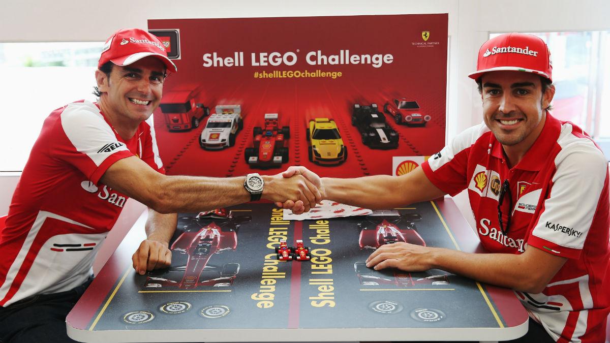 Pedro de la Rosa ha compartido equipo con Alonso y sabe lo que es capaz de hacer el asturiano. (Getty)