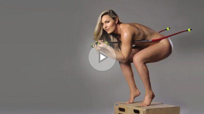 El desnudo integral de la esquiadora Lindsey Vonn que ha revolucionado las redes