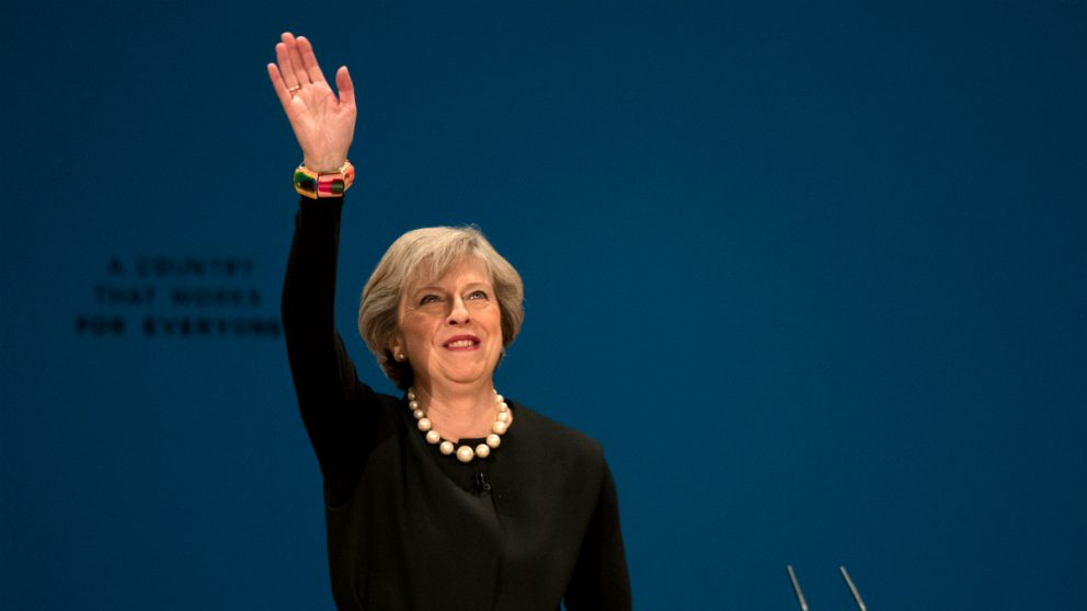 La primera ministra británica, Theresa May (Foto: GETTY).