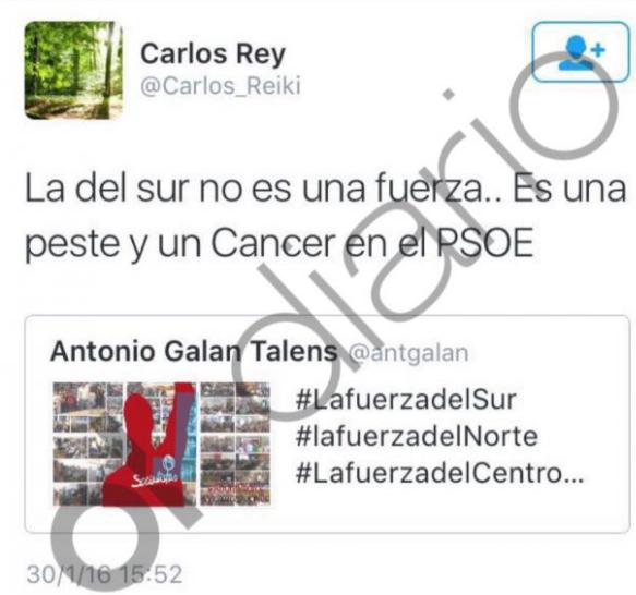 'Tuit' de Carlos Reiki