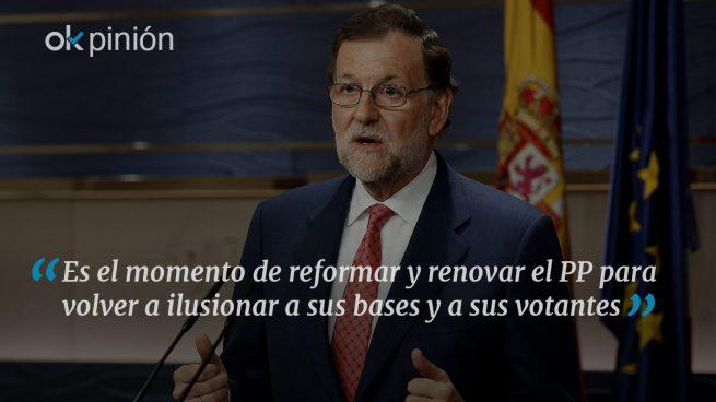 Ahora le toca irse a Rajoy