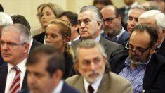 Banquillo de los acusados del juicio por el caso Gürtel. (Foto: EFE)