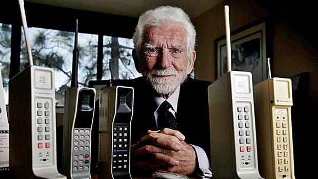 martin cooper primer telefono movil
