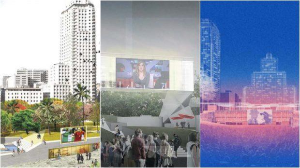 Varias propuestas apuestan por hacer una plaza tecnológica con pantallas gigantes para conciertos y otros eventos. (Fotos: Decide Madrid)