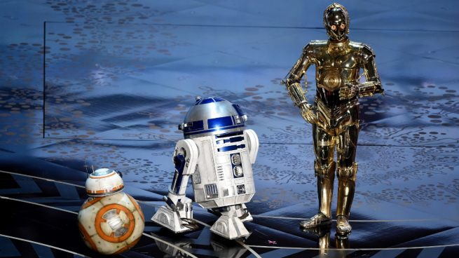 BB-8, R2D2 y C3-PO (Foto: GETTY).
