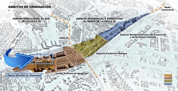 Plan de Carmena donde se incluye la calle Mauricio Legendre. (Clic para ampliar)