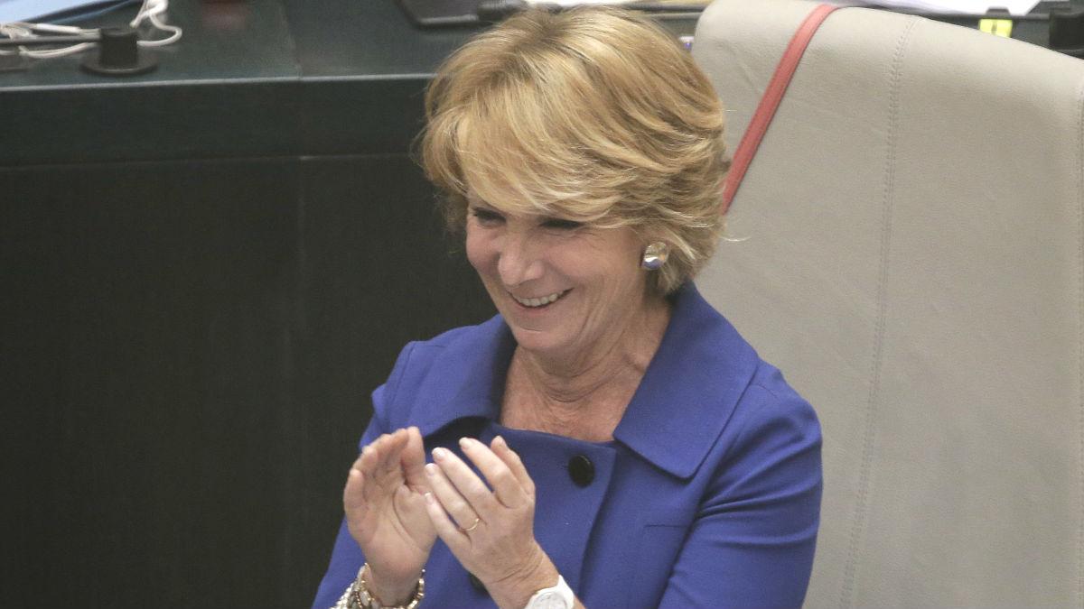 La portavoz del PP en el Ayuntamiento de Madrid, Esperanza Aguirre (Foto: Efe)