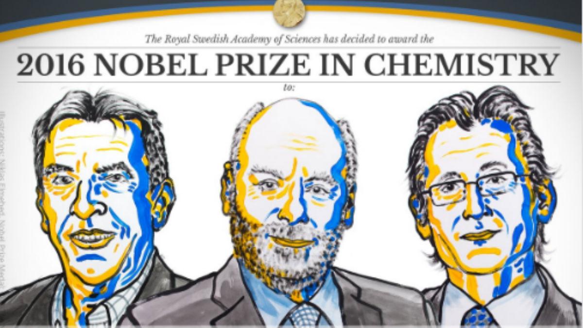 Imagen que han publicado en el perfil oficial de Twitter del Premio Nobel. TWITTER