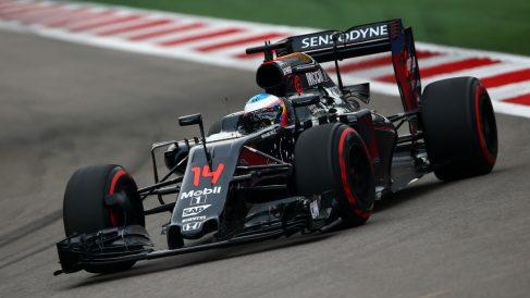 Alonso tuvo una de las carreras más discretas de toda la temporada en Japón. (Getty)
