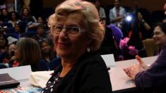 La alcaldesa Carmena en un evento. (Foto: Madrid)