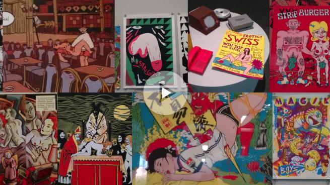 Carmena llena el Ayuntamiento de cómics con imágenes pornográficas, violaciones y sadomasoquismo