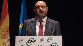 Miguel Borra, presidente de CSI-F