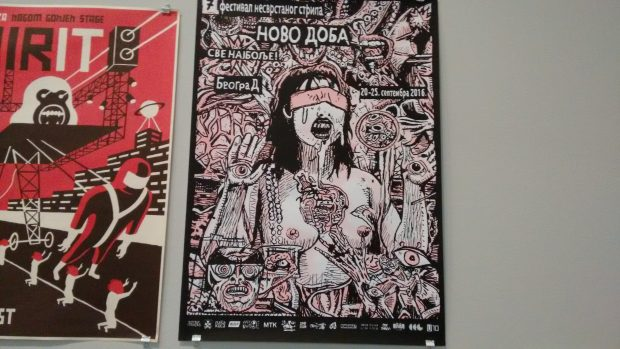 Cartel de la exposición. (Foto: OKDIARIO)